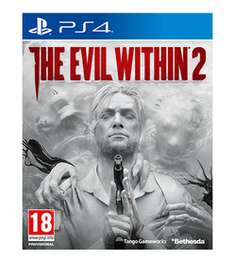 The Evil Within 2 - PS4/XB1/PC - w/ Steelbook + T-shirt + Metal sign - £54.99 @ GAME