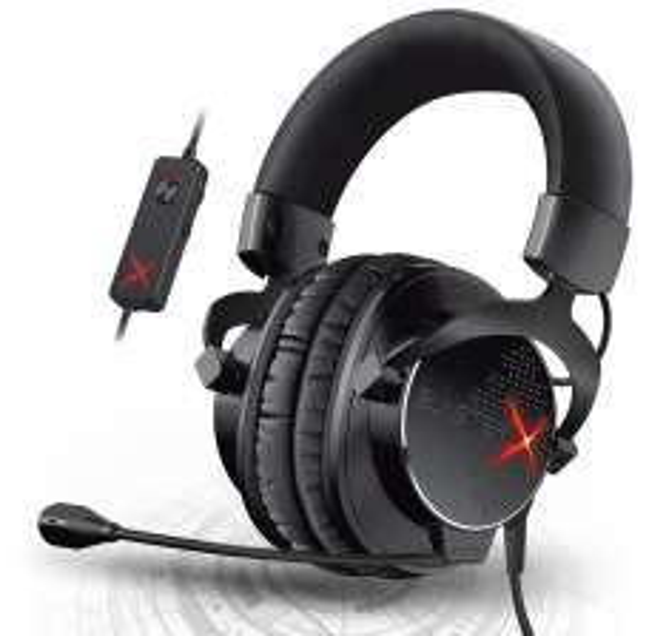 Creative Lab blasterx h7 gaming headphones £48.50 Manufacturer refurbished beautystall / Ebay