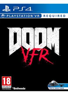 Doom VFR (PS4) £14.95 Delivered (Preorder) @ Base
