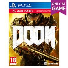 Doom with UAC Pack [PS4/XO] 8.99 (with code) @ Game