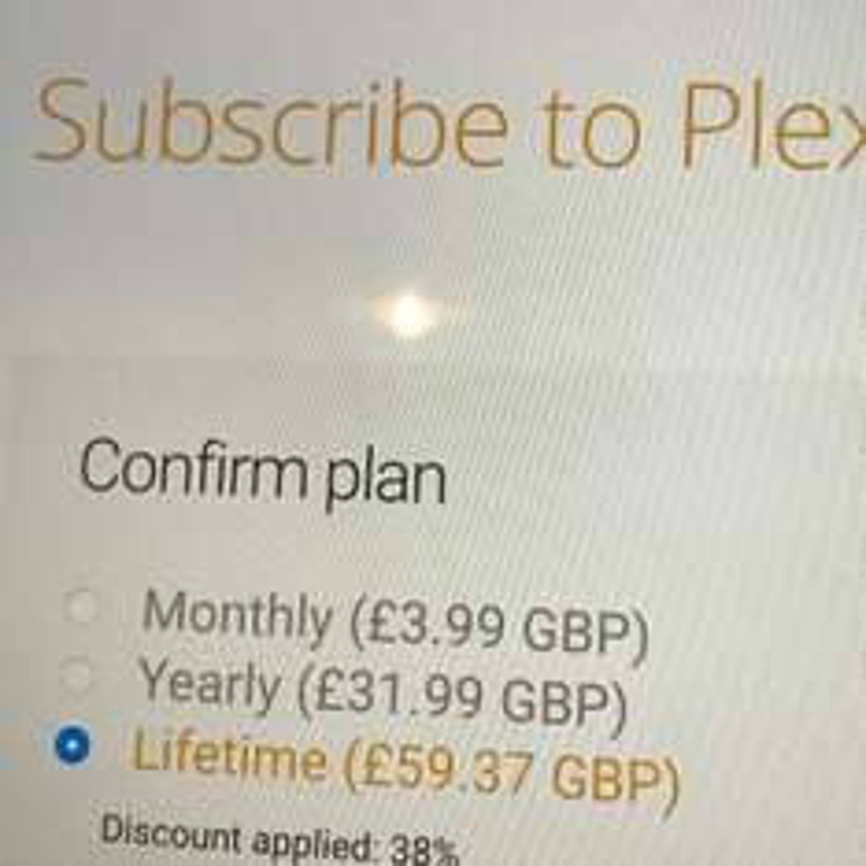 Plex Pass for £59 37 (38% off) - Plex   AceDealClub