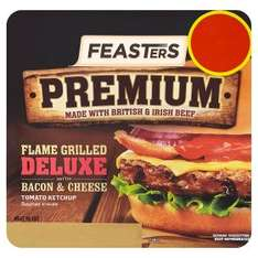 Feasters Premium Flame Grilled Burgers: 50p at ASDA