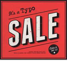 Typo Online up to 50% sale- Great for Early Christmas presents