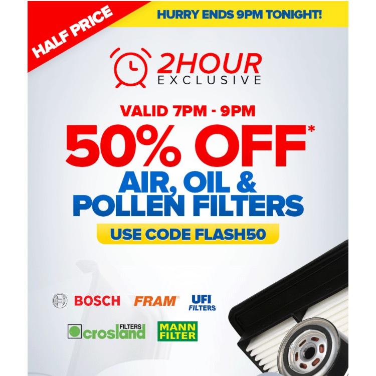 Flash 50 Sale Expires 9pm 4 10 2017 Eurocarparts Eurocarparts