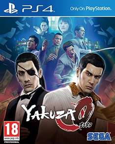 Yakuza 0 (PS4) - £9.98 @ AMAZON (Prime or add £1.99)