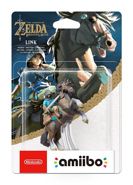 Link Rider Amiibo - Legend Of Zelda Breath of the Wild £12.99 (Prime) @ Amazon