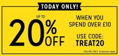 Up to 20% Off @ The Works