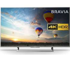 "Sony Bravia KD43XE8077SU  43"" 8 series with 5yr guarantee -  £584.10 with voucher at Currys"