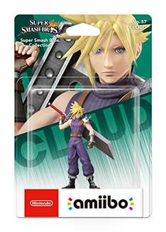 Cloud No.57 Amiibo (Nintendo Wii U) £22 Delivered @ Amazon / sold by Netro Enterprise.