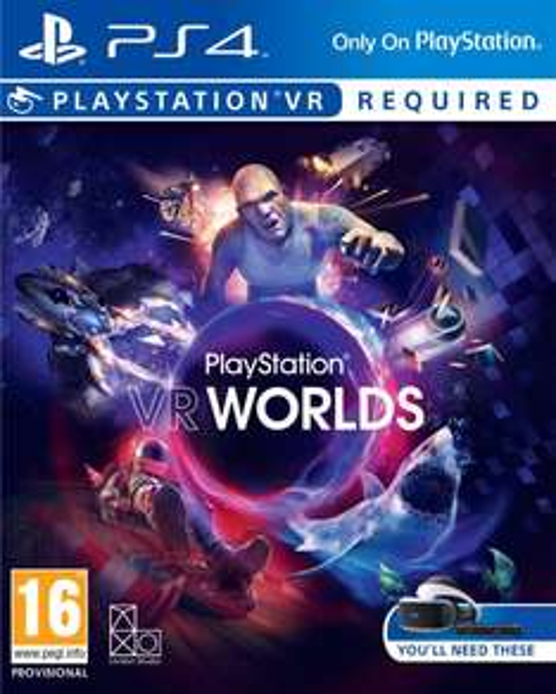 PlayStation VR Worlds (PS4 / PSVR) £12.95 Delivered @ The Game Collection via eBay
