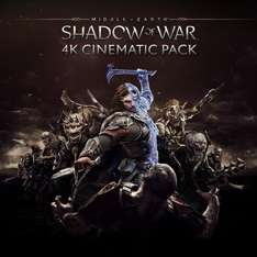[PS4 Pro owners only] Middle-earth™: Shadow of War™ 4K Cinematic Pack on PSN store