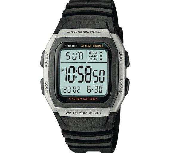 Casio Men's Digital LCD Watch £9.99 Argos