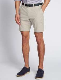Pure Cotton Shorts - Light Stone only £1.19 @ M&S (Free C&C)