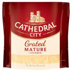 Cathedral Mature & Light Grated Cheese & Cheese Slices 180g now £1 @ morrisons
