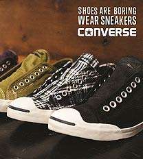 Converse Sale has started! Now up to 50% off + 15% off newsletter sign up