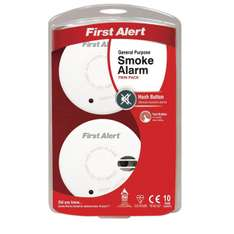 FirstAlert General Purpose Smoke Alarm - Twin Pack £6.50 @ Maplin C&C or free delivery over £10