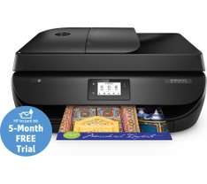 HP OfficeJet 4658 All-in-One Wireless Inkjet Printer with Fax + 5 months free instant ink trial + 1 year warranty - now £39.99 @ Currys **No Referrals pls**