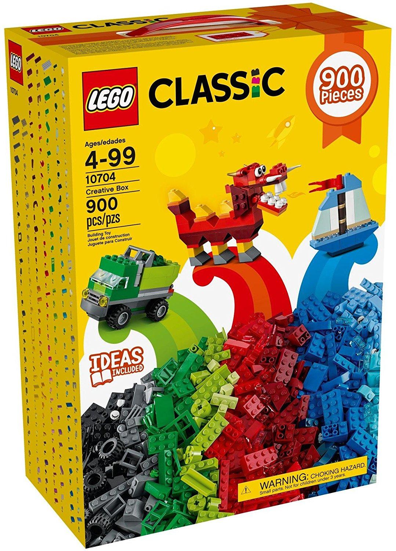 LEGO Classic Creative Box 10704 now £19.80 / LEGO DUPLO Creative Buildbox now £13.19 / LEGO Juniors Fire Patrol Suitcase OR LEGO Juniors Mias Farm Suitcase £11.87 / LEGO DUPLO Santa's Winter Holiday £16.49 @ Tesco Direct