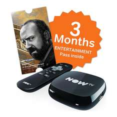 NOW TV Box With 3 Months Entertainment Pass - £12.50 - Game