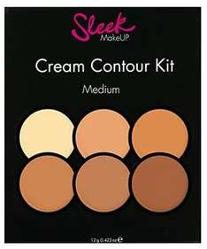 Double Discount on Sleek MakeUP Cream Contour Kits (was £10.99) Now £8.99 + BOGOHP = Get TWO for £13.48 delivered at Superdrug