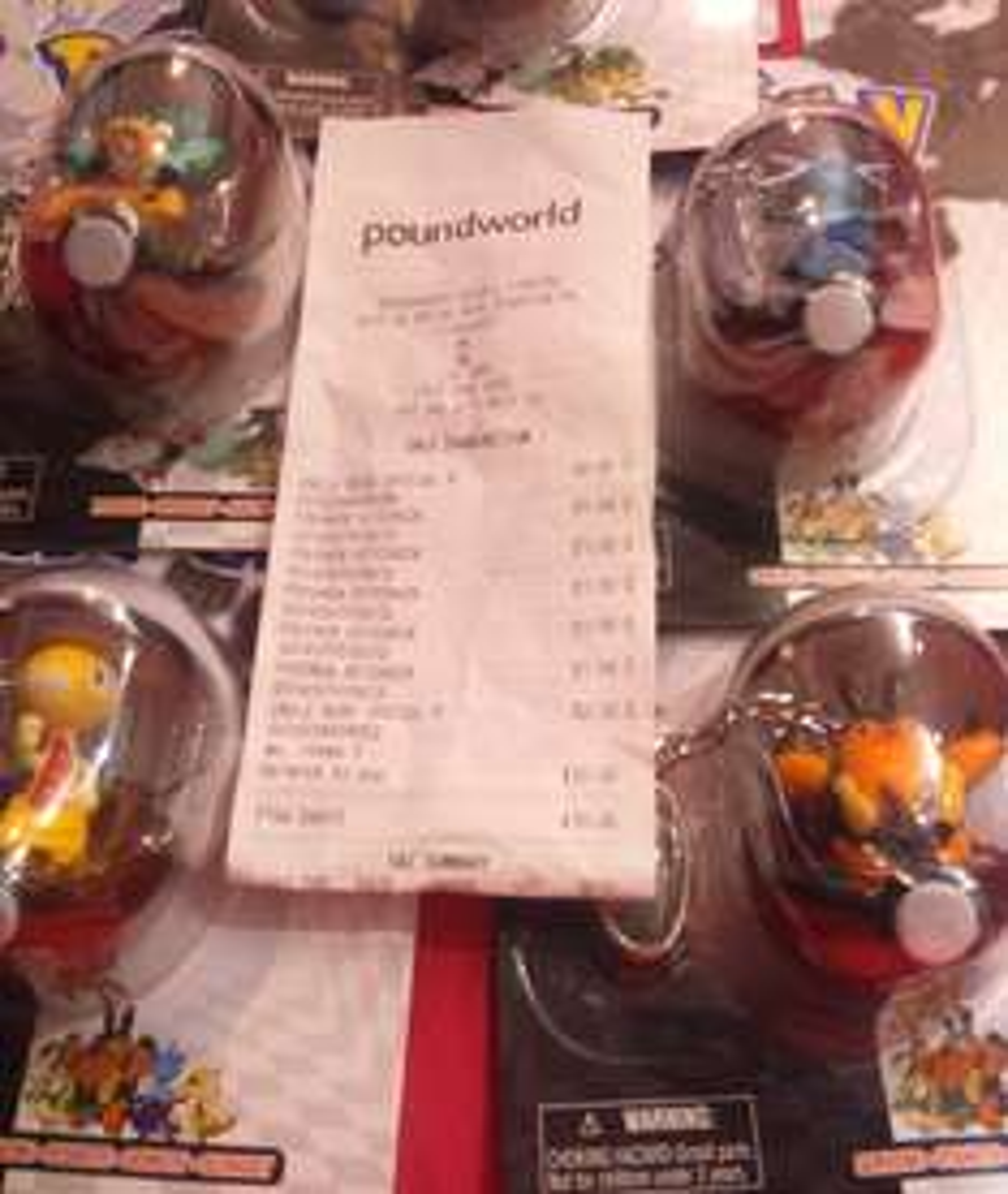 Pokemon key chain £1 instore @ Poundworld