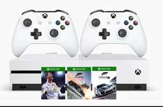 Xbox One S (500GB), 2 controllers and 3 games £274.98 @ BTShop
