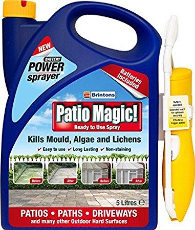 5L Brinton Patio Magic Power Sprayer (Ready to Use Spray) £5 @ Wilko (INSTORE ONLY)