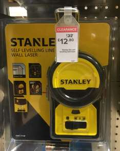 Stanley 6M Self Levelling Wall Laser WAS £32 NOW £12.80 @ B&Q