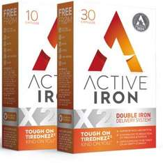 Free 10-Day Iron Supplements (with code) at Myactiveiron.com