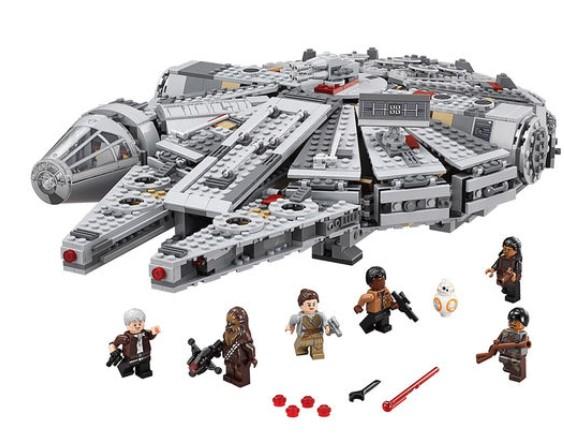 LEGO Star Wars Millennium Falcon (75105) £94.99 using code @ Toys R Us