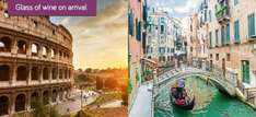 Rome & Venice: 4 or 6nt break from just £129pp - incl. flights, hotels & train @ Holiday Pirates