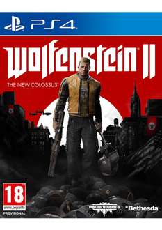 [PRE-ORDER] Wolfenstein 2: The New Colossus (PS4 / XBox One) - £36.85 @ Simply Games