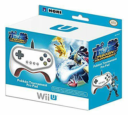 Hori Pokken Tournament Pro Pad Limited Edition Controller (Nintendo Wii U) - £16.52 (Prime) £18.51 (Non Prime) @ Amazon