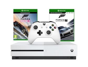 Xbox One S 500GB with Forza Horizon 3 & Forza Motorsport 7 £199.99 @ GraingerGames (New)