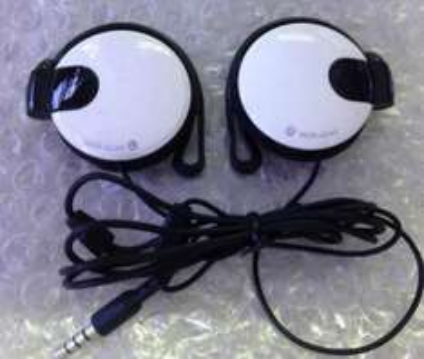 Ear hook headset stereo earphone headphone 3.5mm jack earbuds with microphone £1.38 @ ALIEXPRESS / ERIC STORE