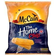 Mccain Extra Chunky Home Chips 1Kg - £1.30 @ Tesco (From 17.10.17)