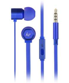 Kitsound Hive Earphones (Blue or Pink) £2.93 (Free C&C) @ Robert Dyas