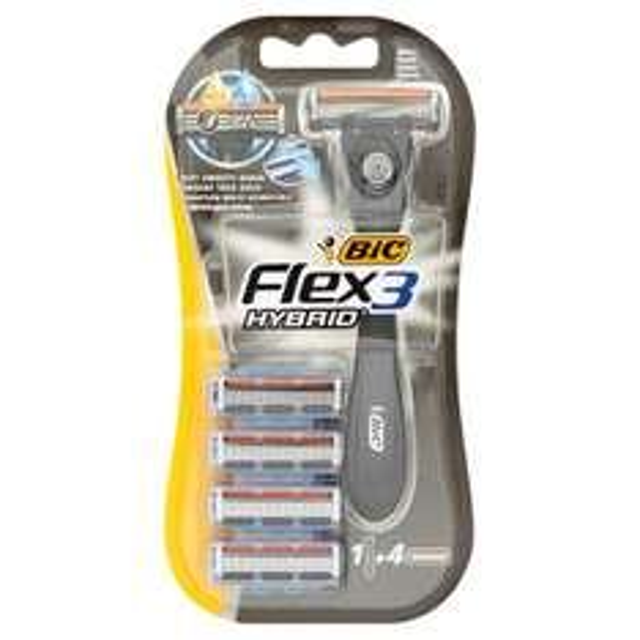 Bic Flex 3 Hybrid Shaver + 4 Blades Half Price £2 @ Morrisons Online/ Instore.