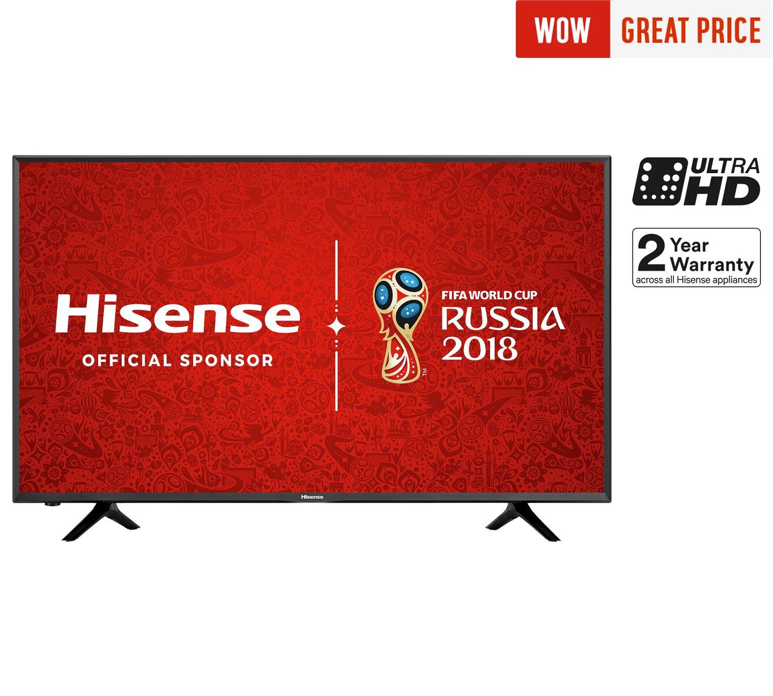 Hisense H55N5300 55 Inch 4K Ultra HD Smart TV £476.10 using 10% off code @ Argos