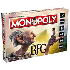 The BFG Monopoly Board Game - £14.75 FREE UK delivery. RRP: £29.99  -  You Save: £15.24 (51%) Sold by: Souvenirs & Gifts / Amazon