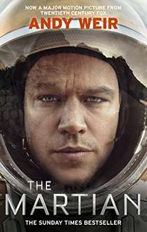 The Martian by Andy Weir Kindle Edition 99p @ Amazon
