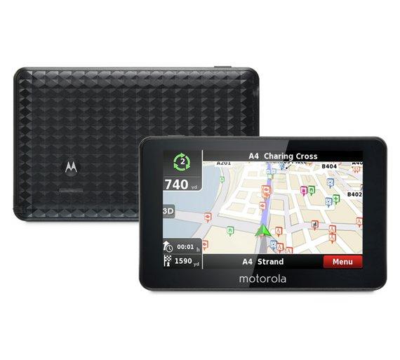 Motorola Sat Nav with lifetime updates PLUS a Motorola MDC100 Dash Cam for £109.99 @ Argos