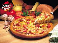 Free £10 Amazon Voucher with Orders Over £20 at Pizza Hut Delivery via VoucherCodes