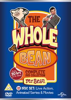 Mr Bean: The Whole Bean - Complete Collection 12 disc DVD collection [New] £8.27 using code at Music Magpie
