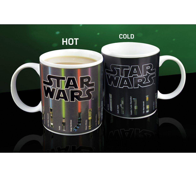 Star Wars Lightsaber Heat Changing Mug - argos was £9.99 now £4.99