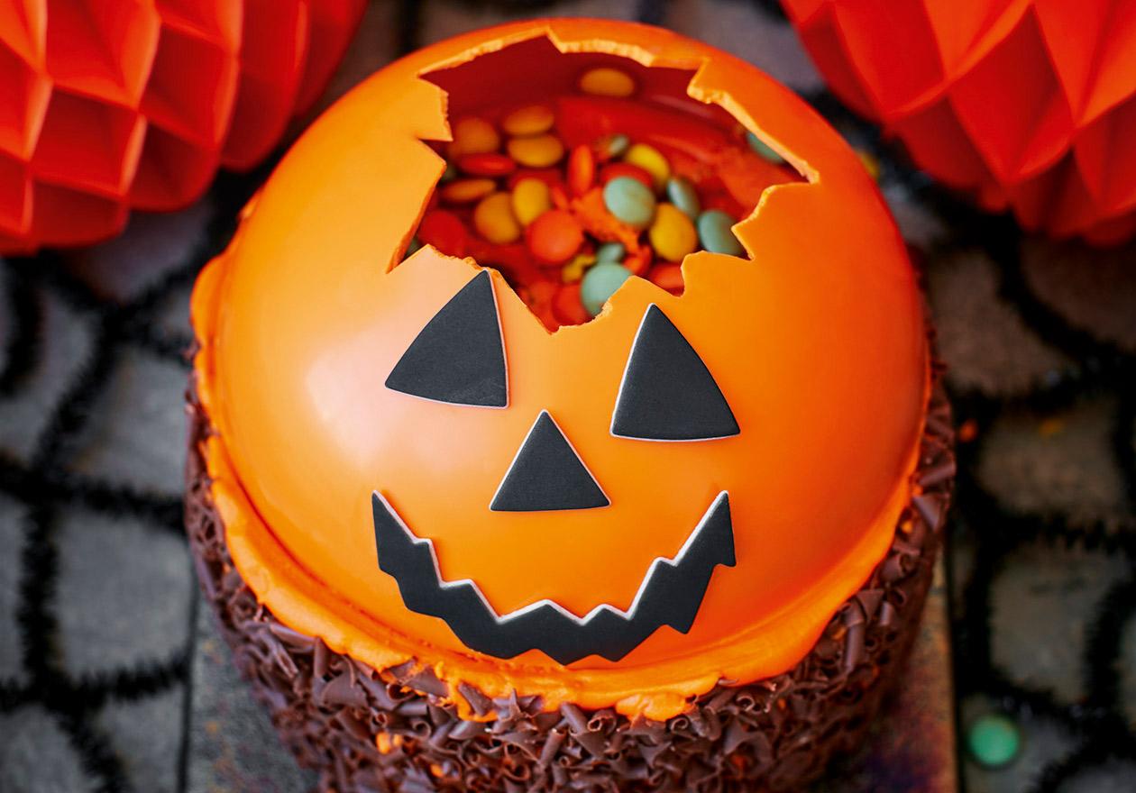 Asda now selling Petrifying Pumpkin Smash Cake for £10