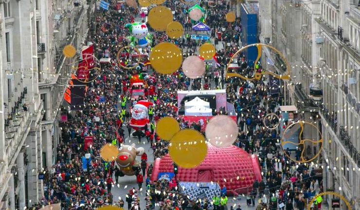 Hamleys Regent Street Toy Parade 2017 - Date Announced - Sunday 19th November - Free