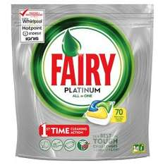 Fairy Platinum Lemon 70 tabs for £7 @ Asda Instore only