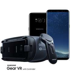 Samsung Galaxy S8 + Samsung Gear VR Headset with controller £532.99 - 	MobilePhones Direct