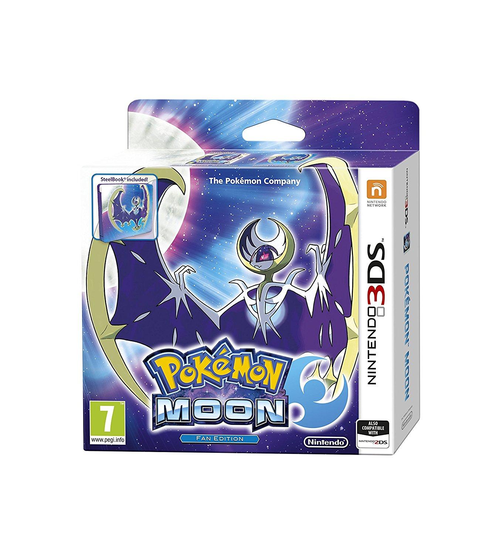 Nintendo 3DS Pokemon Moon Steelbook Fan Edition + Free Official Pokemon Bracelet £21.85 Del @ Simply Games